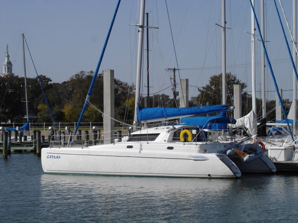 Preowned Sail Catamarans for Sale 1997 Tobago 35